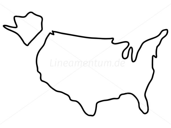 Ferdinand (IN) United States  city photo : USA US United States Amerika Vereinigte Staaten Karte Landkarte
