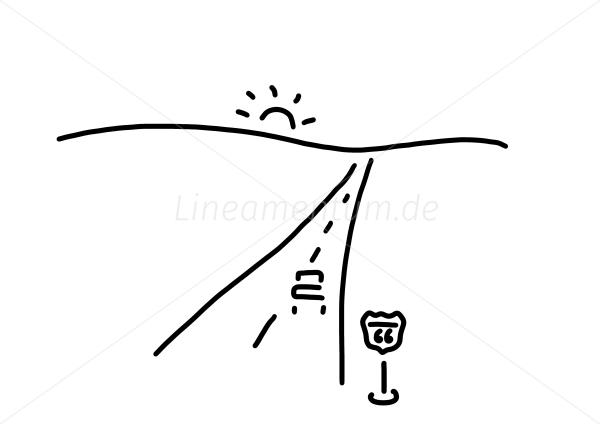 Länder und Städte - auto auf strasse route 66 in usa - Ferdinand ...