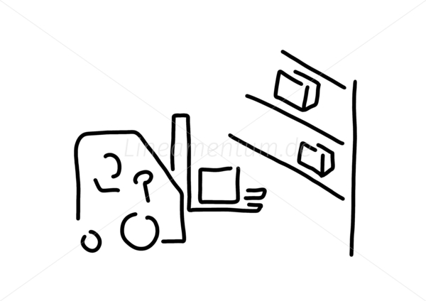 gabelstapler fahrer lagerist lager. Black Bedroom Furniture Sets. Home Design Ideas