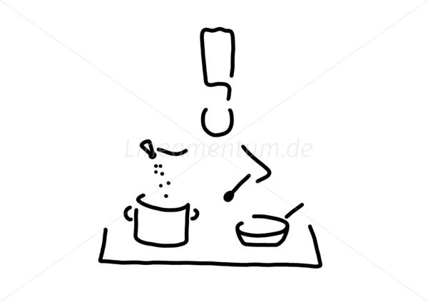 Arbeit und Berufe - koch gourmet herd - Ferdinand Wedler   Bildarchiv   {Koch bei der arbeit clipart 81}